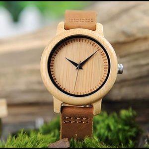 Accessories - Women's Bamboo wooden watch new